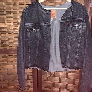 Cropped Levi's Denim Jacket